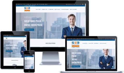 exemple site internet responsive
